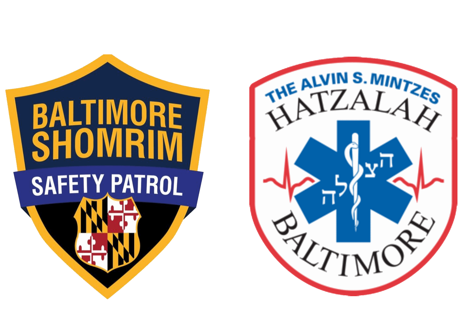 Shomrim and Hatzalah Logos