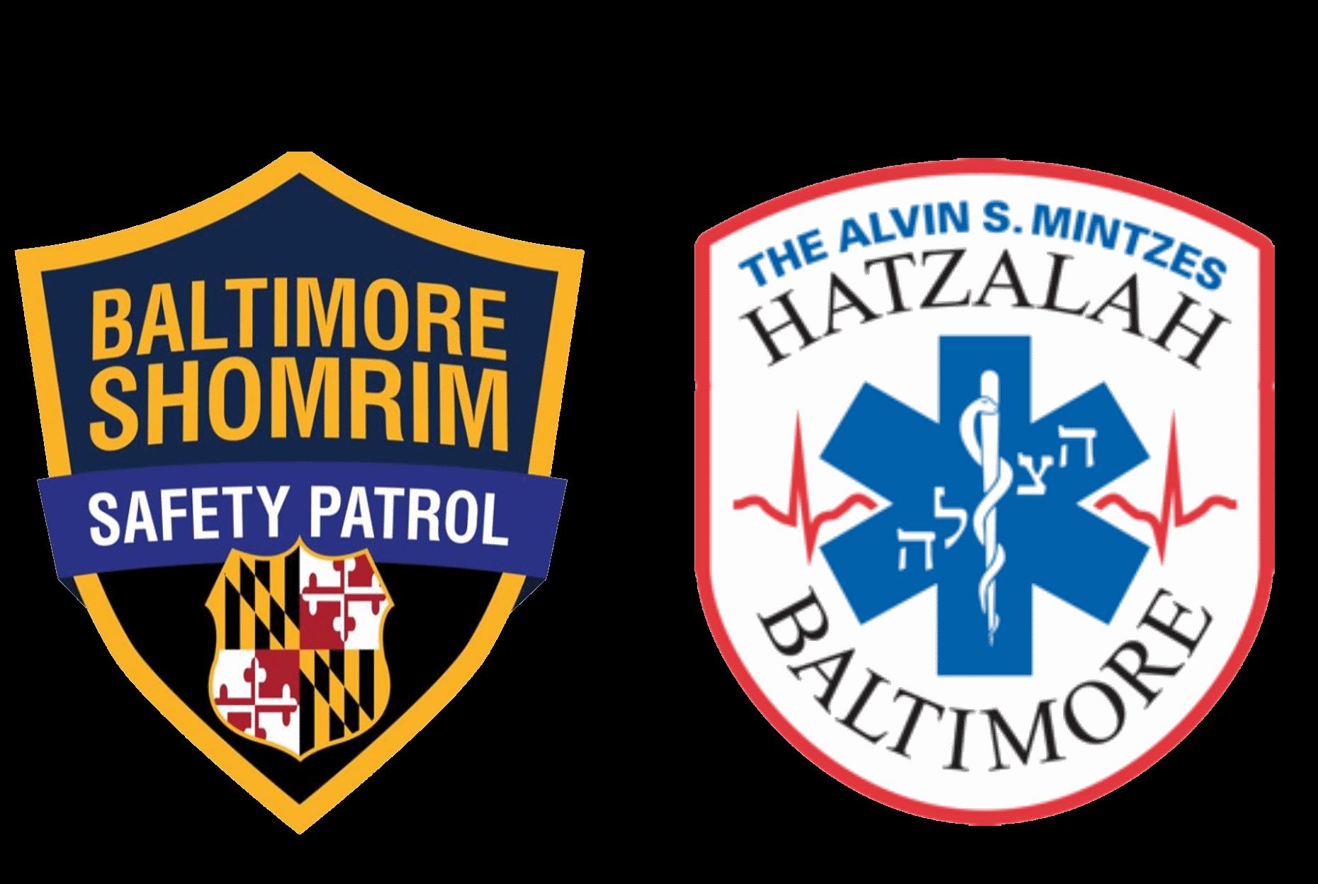 Shomrim and Hatzalah Logos